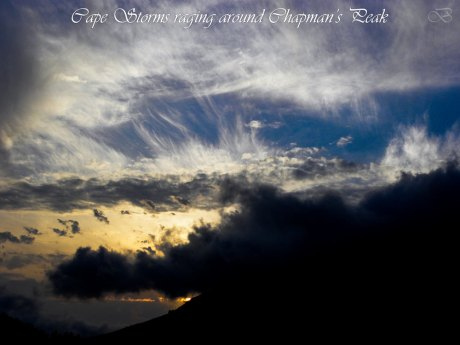 The Sky Above Chapman's Peak